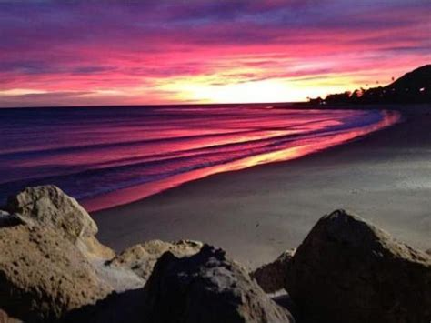 sunset malibu beach california usa faces and places and things spectacular sunset last night in malibu conejo valley