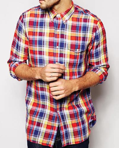 Rok Flanel Tartan from meetings to gatherings plaid flannel shirts rock in
