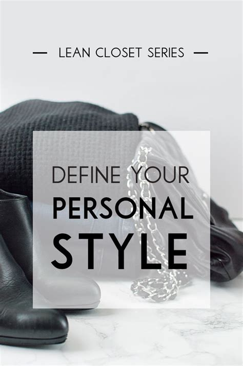 Define Wardrobe - how to define your personal style style capsule