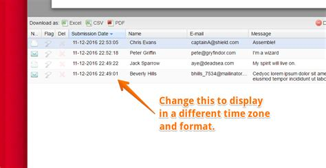 php format date according to timezone how to change submission date to a different format and