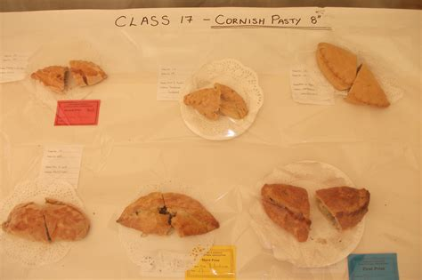 Handmade Cornish Pasties - to the liskeard show cider cottage at woodhill manor