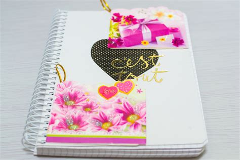 How To Make A Paper Scrapbook - how to make a scrapbook 10 steps with pictures