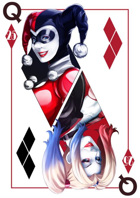 batman birthday card by scara1984 on deviantart harley quinn 25th anniversary by kevin manguera imaginarydc