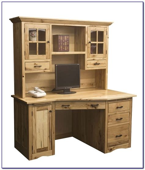 Solid Oak Desk With Hutch Solid Wood Computer Desk With Hutch Page Home Design Ideas Galleries Home Design