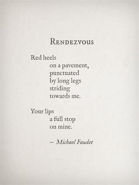 dirty rendezvous pretty 3936709653 rendezvous by michael faudet poems eyes the o jays and as you like it