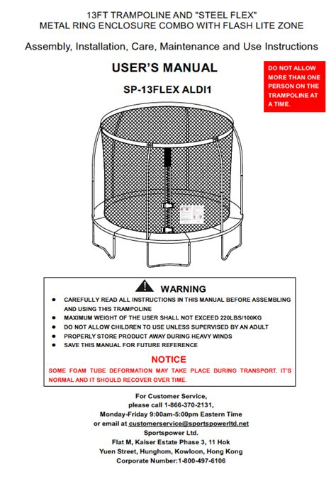 sportspower swing set manual manual for the 13 sportspower model sp 13flex aldi1 combo