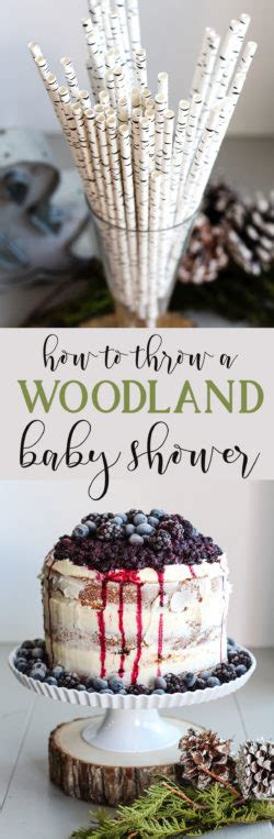 Woodland Themed Baby Shower Decorations by Woodland Themed Baby Shower The Diy Lighthouse