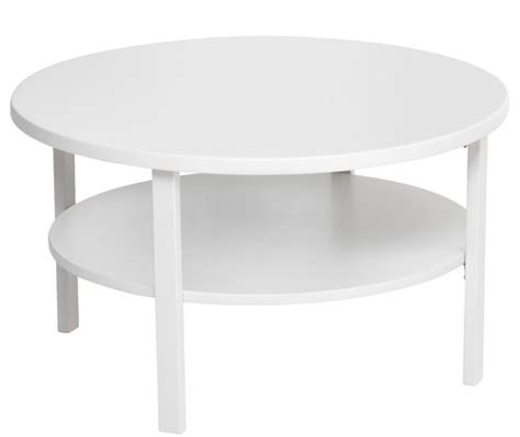 Jysk Side Table Coffee Table Skibby D80 W Shelf White Jysk