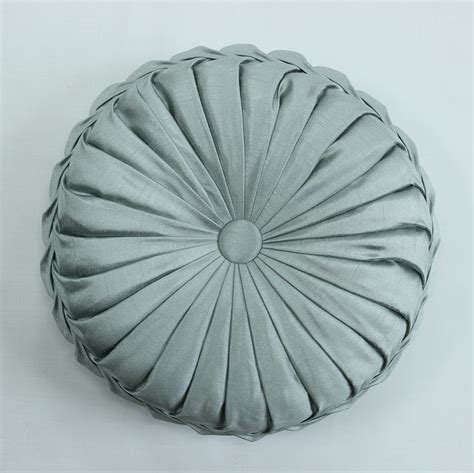 round sofa cushions vezo home handmade sofa decorative satin round cushions