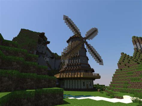 Mill Minecraft Project Minecraft Windmill Farm