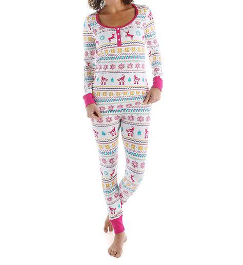 bed head pjs bedhead pajamas partridge fair isle long sleeve henley pj set 2621 bedhead pajamas