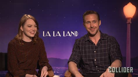 emma stone ryan gosling interview la la land emma stone and ryan gosling on filming in 40