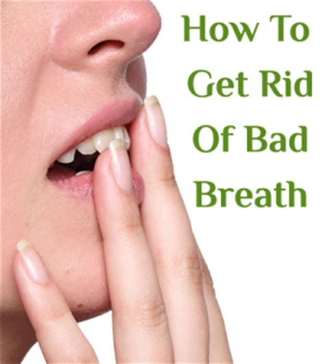 how to get rid of bad breath for good beauty insider org how to get rid of bad breath bestnaturaltips