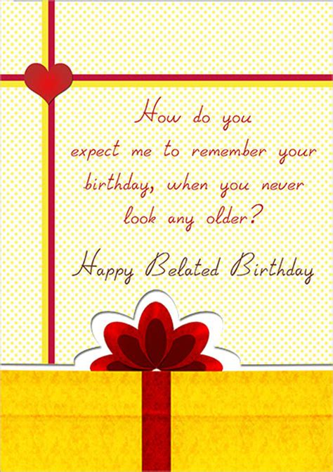 printable birthday cards belated printable belated birthday cards
