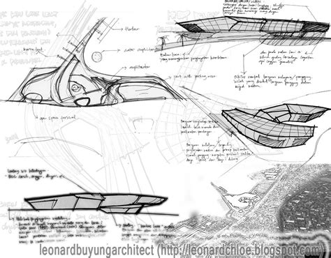design concept architecture exles made by culture manado arts and cultural center