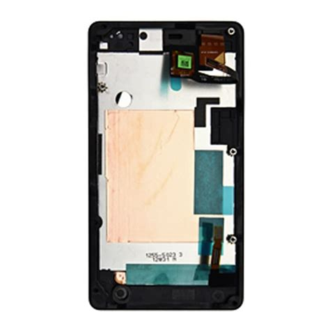 Lcd Original Sony Xperia Go sony xperia go front deksel lcd display svart