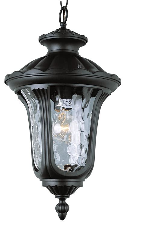 Trans Globe Lighting Fixtures Trans Globe Lighting 5914 Bk New American Transitional Outdoor Hanging Light Tg 5914 Bk