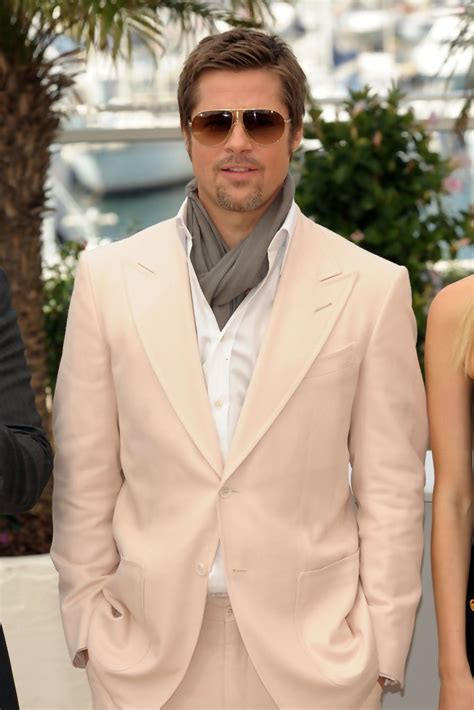 Cannes Festival Brad Pitt And Get Shady by Brad Pitt In Inglorious Bastards Photocall At Cannes
