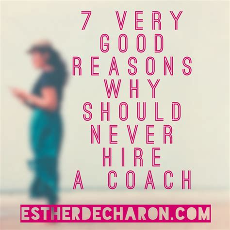 hire a couch why you should never hire a coach