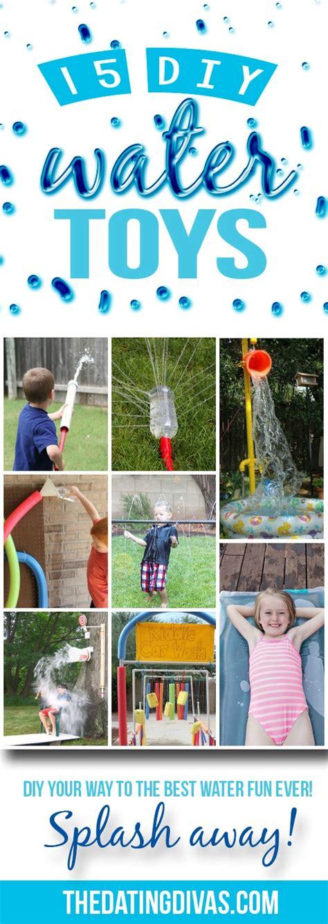 diy backyard toys 75 outdoor water activities