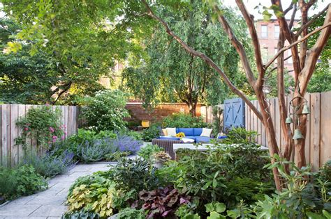 backyard nyc creating a garden oasis in the city the new york times