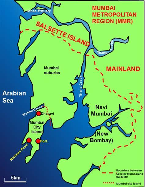 where is mumbai on the world map mumbai study