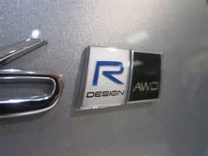 Volvo Emblem Genuine Volvo Quot R Design Quot Emblem Badge 983139187300
