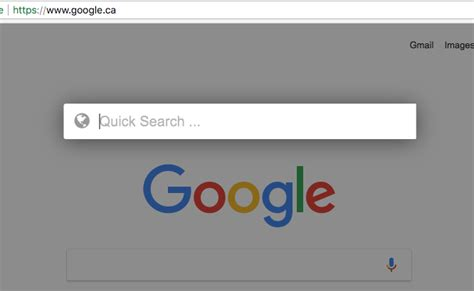 chrome quick search more quick search functionality added it glue knowledge base