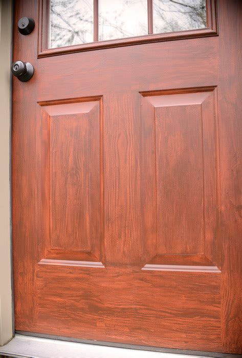 colors that look with thrifty transformation how to paint a door to look like