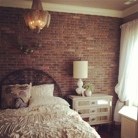 best 25 brick wallpaper bedroom ideas on pinterest