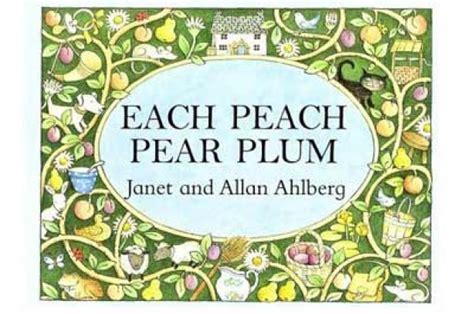 libro each peach pear plum each peach pear plum