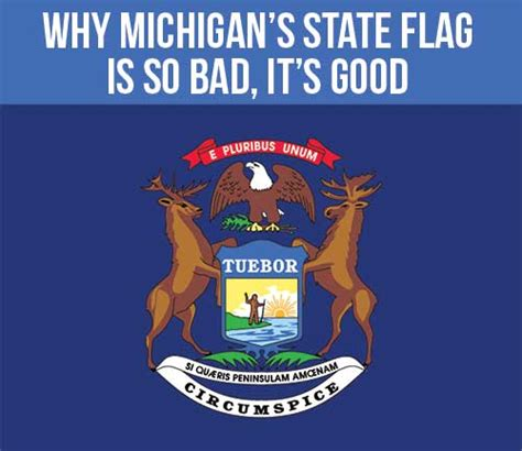 why michigan s state flag is so bad it s good