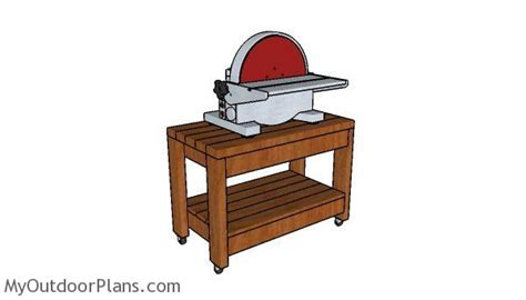 rolling benchtop tool stand plans myoutdoorplans  woodworking plans  projects diy