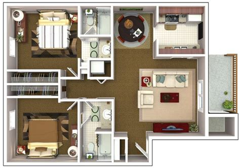 2 bedroom apartment layout ideas three bedroom flat layout google search home designs