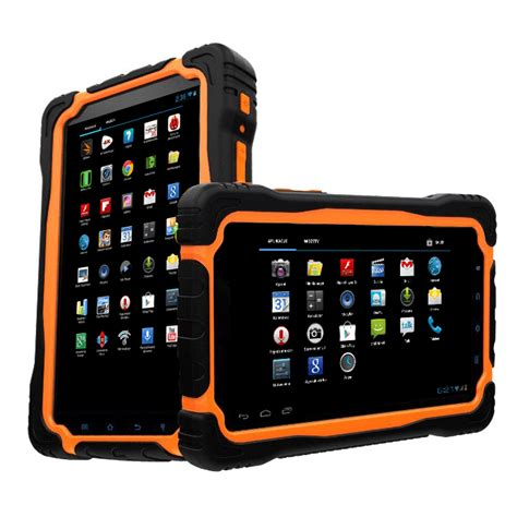 rugged android tablet android rugged tablet 7inch industrial waterproof dual with 3g gps wifi bluetooth
