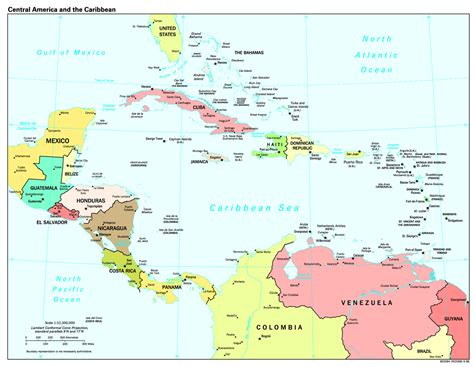 map of america and caribbean central america quotes like success