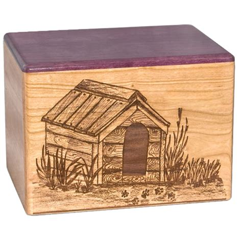 dog house urn pet urns dog house wood urn
