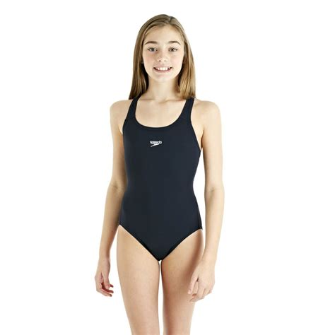 speedo girl swimsuit speedo endurance plus racerback girls swimsuit sweatband com