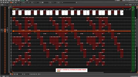 Piano Roll piano roll integrated in pattern editor a advanced