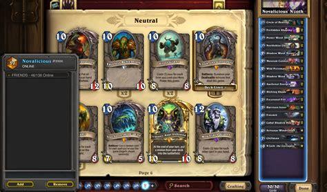 hearthstone legend deck s26 legend narub s n zoth priest hearthstone decks
