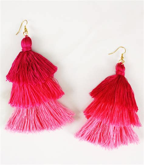 colorful earrings diy tassel earrings in 3 colorful ways a subtle revelry