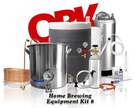 complete all grain home brewing equipment kit