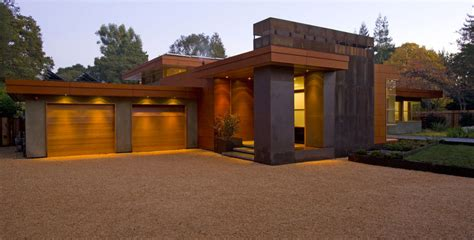 glorious flat roof homes with entrance mid century style