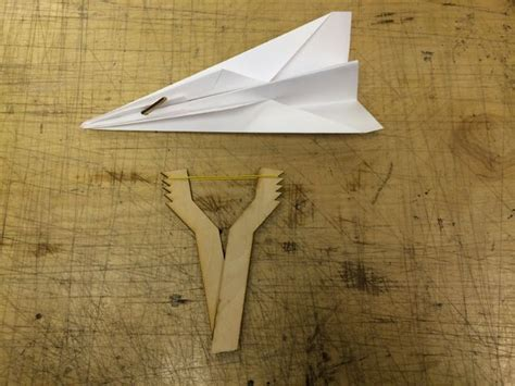 How To Make Paper Slingshot - how to make a paper airplane slingshot