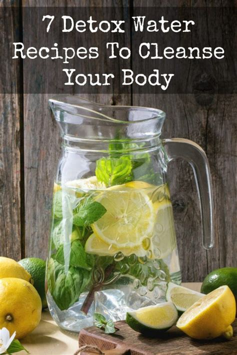 How To Detox Your Naturally With Water by 7 Detox Water Recipes To Cleanse Your Http