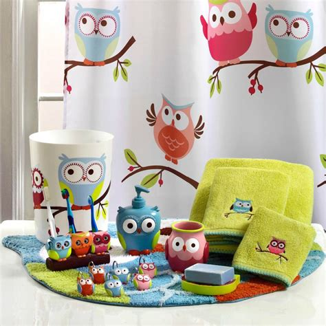 Owl Bathroom Accessories Owl Bathroom Accessories Owl Crafts Owls Decor Owl Bathroom Accessories Tsc