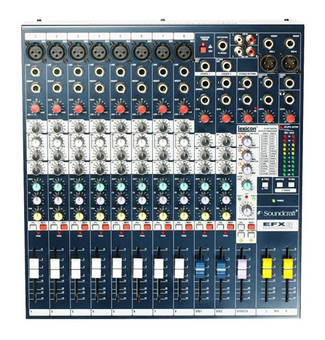 Mixer Sound efx8 soundcraft professional audio mixers