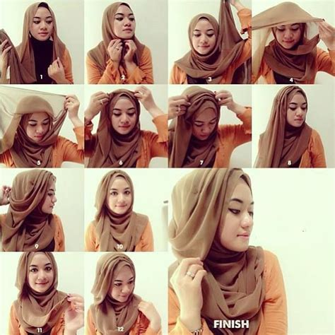 hijab tutorial pashmina for party shawl layered hijab tutorial hijab style pinterest