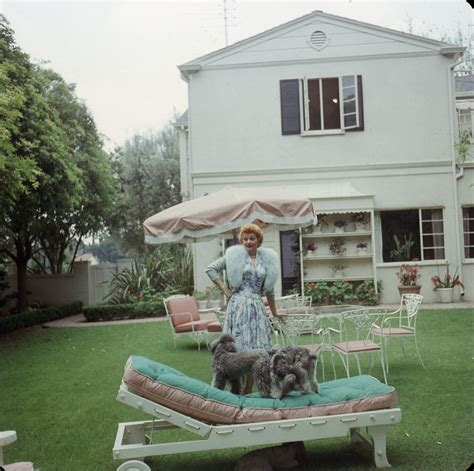 lucille ball house life at home with lucille ball vintage photos of lucille