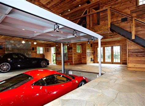 houses with elevators luxury home garage with car elevator in connecticut idesignarch interior design